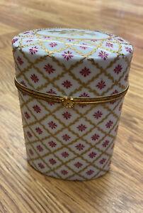 Tiffany & Co Vintage Porcelain Le Tallec Cirque Chinos Oval Trinket Box