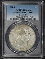 1900  Lafayette Silver Dollar PCGS UNC Details Cleaned