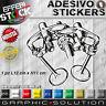 Adesivo / Sticker DUCATI DESMO LOGO DESMODROMICO MOTO GP SBK 916 MONSTER 748 999