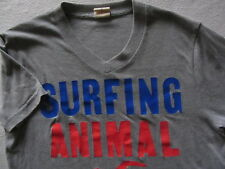 "Hollister Men's Short Sleeve V-Neck T Shirt - ""Surfing Animal"" - Small"