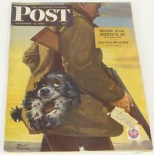 Saturday Evening Post November 17 1945 Russia Yale Corn Albert Staehle
