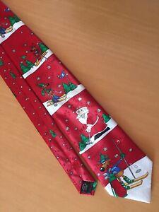 Hallmark Christmas Tie, Cravate de Noël, Weihnachtskrawatte
