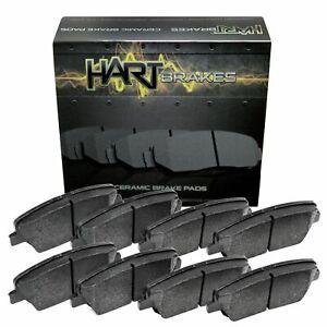 For 2012 Nissan NV1500, NV2500, NV3500 Front Rear Ceramic Brake Pads