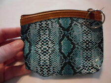 "Set of 3 Multi-Color Snake Coin Purses (4x3.5"")"