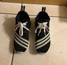 Adidas x White Mountaineering NMD R2 Primeknit Core Black Size 9.5