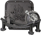 Barrel Camp Stove Kit Heavy Duty Cast Iron Lightweight and Portable