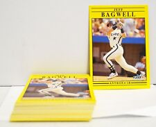 1991 Fleer Jeff Bagwell Rookie Card lot of 30 RC Rookie