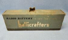 Vintage Hallicrafters 90-volt & 9-volt #P999 Radio Battery – For Display