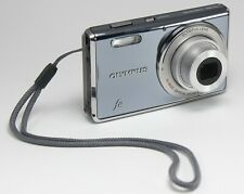 Olympus Fe-4000 12.0Mp Digital Camera - Gray with chrg,batt,box,cable Usa Seller