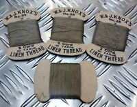 Genuine Vintage No.35 Linen Thread 2 Cord 50 Yards W & J.Knox's Scotland - NEW