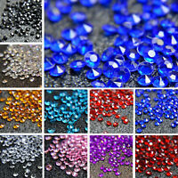 10000pcs Diamond Table Confetti Scatter Crystal Diamante Party Decoration 2.5mm