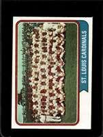 1974 TOPPS #36 CARDINALS TEAM EXMT CARDINALS  *X4980