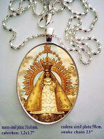 Virgen De La Caridad del Cobre Pendant - Our Lady of Charity Cuba  23inch