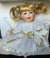 Large Porcelain Angel BABY'S DREAM Doll Heaven Communion * NEW *