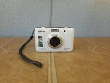 Nikon Coolpix S30 10.1MP Waterproof 720P HD Point & Shoot Digital Camera White