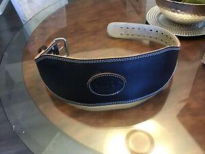 Altus men's Large.  2 Prong Leather Weight Lifting belt
