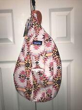 KAVU Rope Sling Bag Crossbody Backpack Mojave Dusk Color Multi
