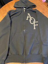 Alexisonfire Hoodie Sweatshirt Black Zip SNAKE Size Medium Very RARE EUC