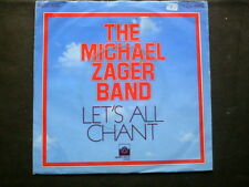 Emi  7 inch Single LET´S ALL CHANT von THE MICHAEL ZAGER BAND   (1977)