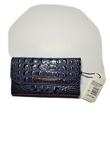Brahmin soft checkbook wallet/french purse