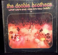 """The Doobie Brothers """"EX"""" What Were Once Vices Are Now Habits Album LP W2750"""