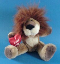 RUSS Lion I Love You Heart Cuddly Toy Soft Toy Valentines Day