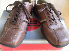 London Underground Men's Brown Leather Shoes Size 10 MED  Priority Ship