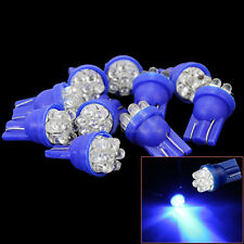 10 LED Blu Luce Targa Lampadina Veicoli Auto T10 DC 12V 6LED Alta Luminosità