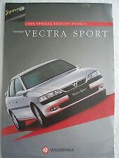 OPEL VECTRA SPORT FOLLETO Octubre de 1997