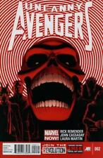 Uncanny Avengers #2  January 2013 NOW REMENDER CASSADAY RED SKULL