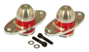 Prothane Bullet Motor Mount Kit Red Urethane-Alumimum for 05-17 Mustang 6-505