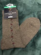 VINTAGE Woolworths Men's Socks Size 6-8.5 Rare.  Scooter Mod Go Go