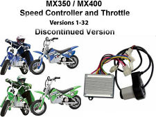 Razor MX350 MX400 Versions1-32 Dirt Rocket Bike Throttle and Controller Kit