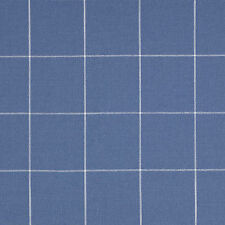 Jane Churchill Plaid Upholstery Fabric- Adler Check/Blue 2.60 yd (J690F-01)
