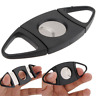 Stainless Steel Pocket Cigar Cutter Double Blades Scissors Tobacco Gift