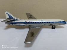 VINTAGE TIN TOY AIRPLANE TIPPCO TIPP&AMPCO GERMANY AIR FRANCE AIRLINES CARAVELLE