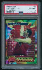 1993 Topps Finest REFRACTOR #96 Tom Gugliotta PSA 8