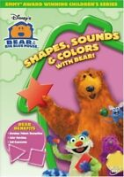 Bear In The Big Blue House Shapes Sounds And Colours Region 4 DVD New