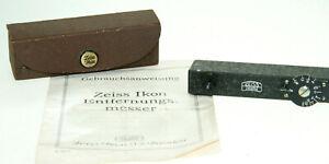 Zeiss Ikon Entfernungsmesser mit Etui