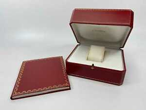 Used Cartier Genuine Cartier Red Watch Box Watch Box 50001845