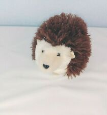 Spunky Hedgehog Plush Cuddles Toy Douglas Mole Stuffed Animal Soft Fur Brown