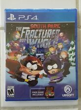 NEW South Park The Fractured but whole Sony PS4 Sealed Bonus Stick Of Truth Game