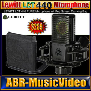 LEWITT LCT 440 Pure Studio Microphone/ 2 Year Manufacture Warranty