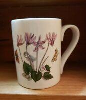 Portmeirion The Botanic Garden Coffee Tea Mug Cup Flowers Butterfly