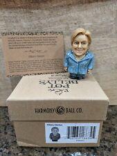 "Harmony Kingdom Ball Historical Retired Pot Belly Hillary Clinton 3rd Ed. ""45?"""
