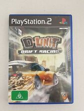 D-UNIT DRIFT RACING - with manual - PS2 PLAYSTATION 2 GAME