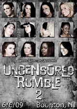 WSU Womens Wrestling - Uncensored Rumble 2 DVD Rain Annie Social