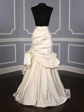 AUTHENTIC Monique Lhuillier Eternity Ivory NEW Wedding Skirt 10 RETURN POLICY