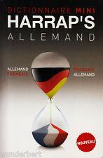 De HARRAP dictionnaire mini - ALLEMAND-Français Français allemand tb (2008)