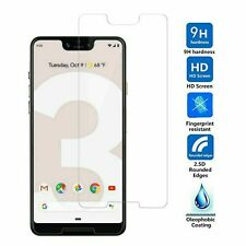 Google Pixel 3 3a 3XL 4 4a 4XL Max Tempered Glass Screen Protector Single Pack!